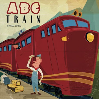 ABC Train - This alphabet book takes you from the big city to new lands, some imagined and some real. Toddler to Preschool age children will love the dinosaurs, giant ice cream cones, monkeys, spaceships, and more!
