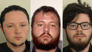 US, accused of overthrowing government, arrested 3 members of white racist group