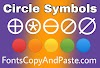 Circle Symbols to Copy And Paste (⦿ ◍ ◎ ⊚ ⊙ 〇 ◯🔴 🟠 🟡⭕)