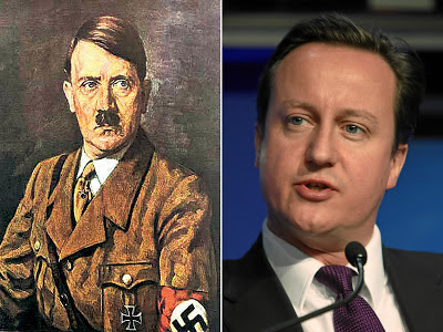 #HASHCOREDavidCameron, the personification of Evil