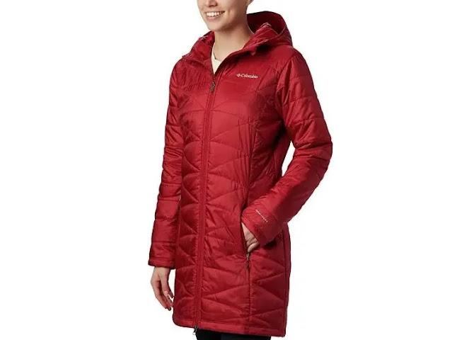 1. Columbia Women's Mighty Lite Hooded Jacket