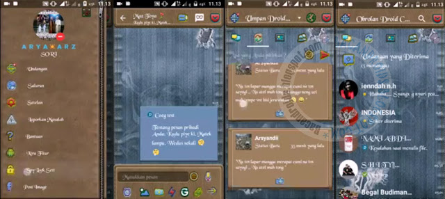 BBM Mod Droid Chat Jeans theme v12.1.25 Base 3.0.1.25 APk Terbaru Clone Unclone