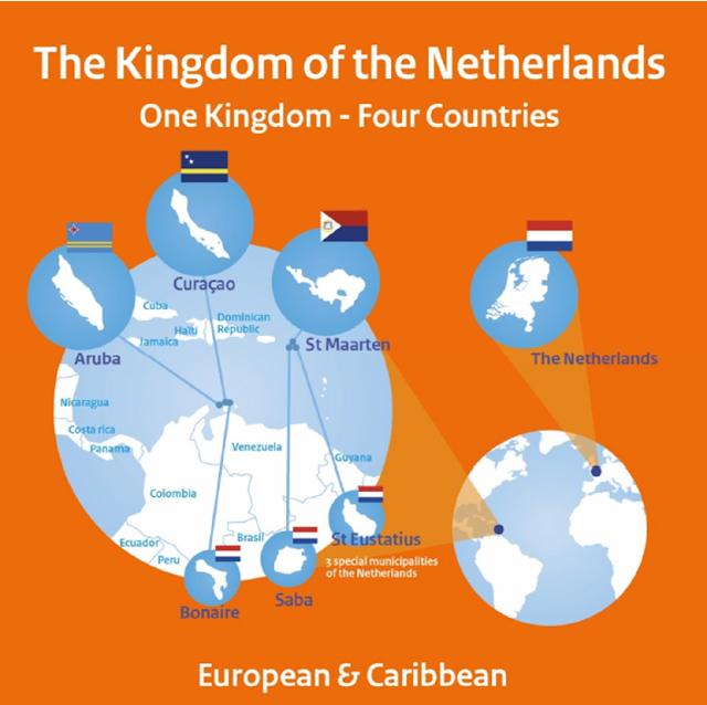 مملكة واحدة لأربع بلدان.. معلومات عن المملكة الهولندية