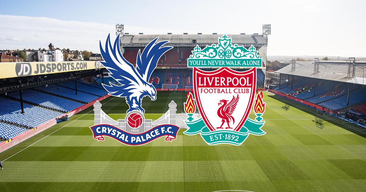 Which channel does Crystal Palace transmit vs. Liverpool for the Premier League