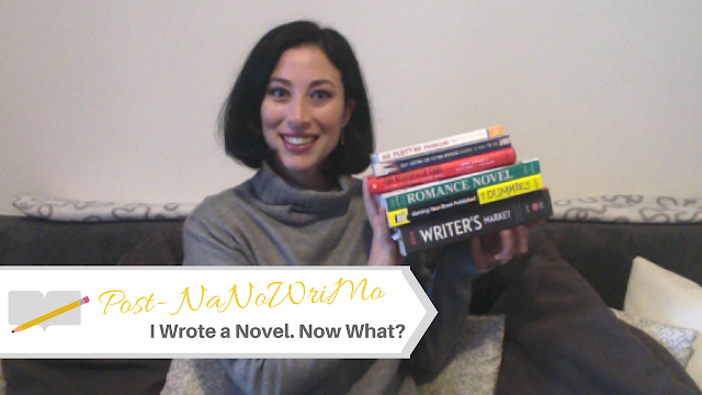 Post #NaNoWriMo: I Wrote a Novel. Now What? #PostNaNoWriMo #NaNoWriMo2016