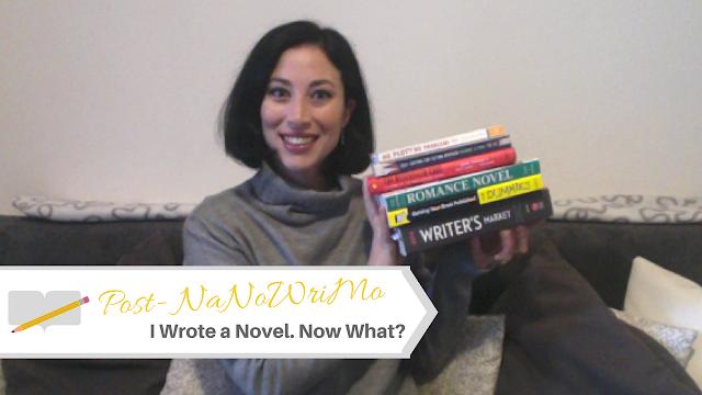 Post #NaNoWriMo: I Wrote a Novel. Now What? #PostNaNoWriMo #NaNoWriMo2016
