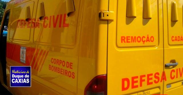 Cadáver é encontrado em campo de futebol em Duque de Caxias