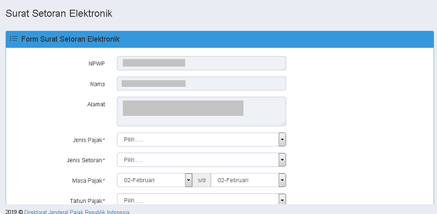 Cara Membuat Kode Billing SSE2 via DJP Online 2020