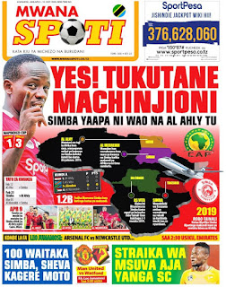 Habari kubwa za Magazeti ya Tanzania leo January 9, 2021