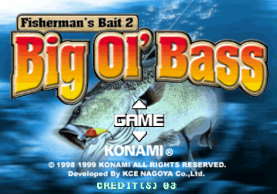 Fisherman's Bait 2: Big Ol Bass PS1