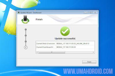Flash WebUI dan Firmware Huawei E3372