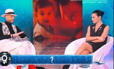 Bianca Guaccero gambe detto Fatto conduttrice televisiva