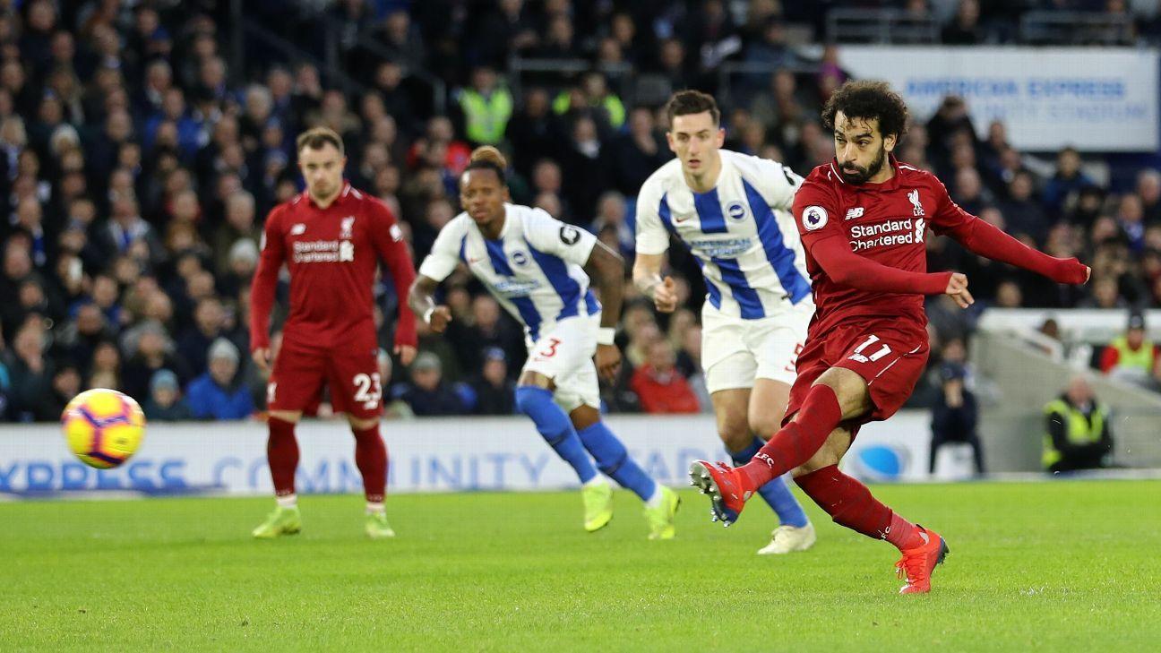 Prediksi Liverpool VS Brighton & Hove Albion 30 November 2019