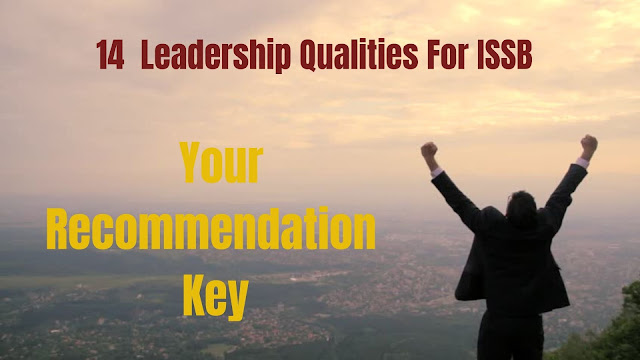 Leadership qualities for ISSB