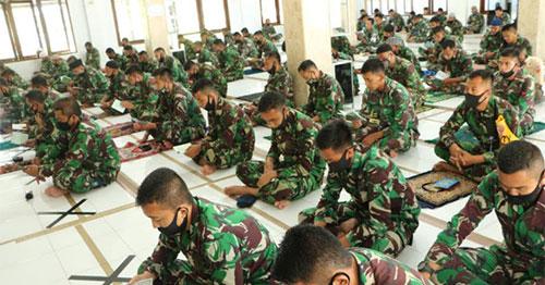 Segenap Prajurit Pangkalan TNI AU Supadio Gelar Doa Bersama