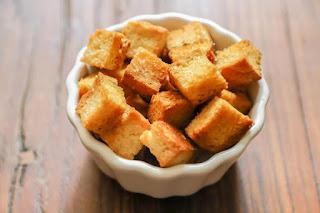 Garlic Bread croutons