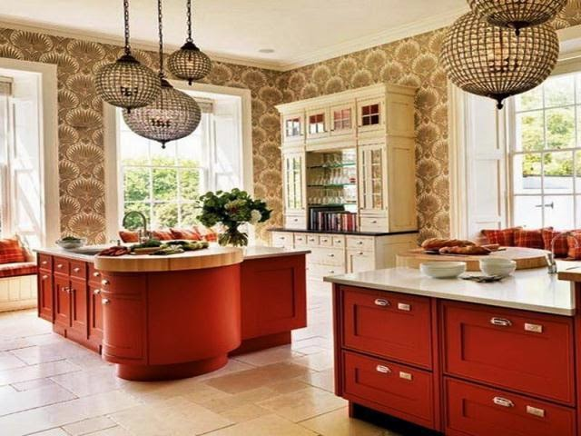 wall colour ideas for kitchens