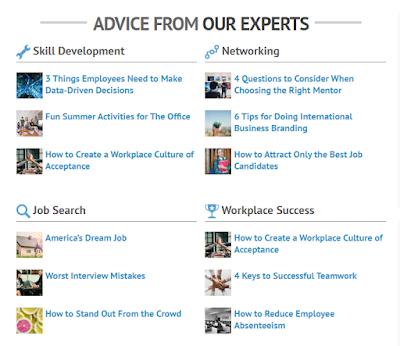 10 Situs untuk membangun karir