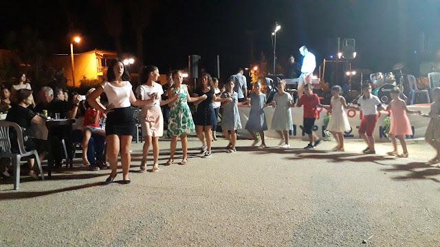 Κέφι και χορός στο παραδοσιακό γλέντι στα Πυργιώτικα Ναυπλίου (βίντεο)