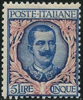 Italy 5 Lire King Victor Emmanuel III