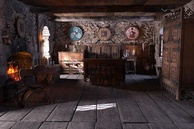 ROG Medieval Fantasy Bedroom
