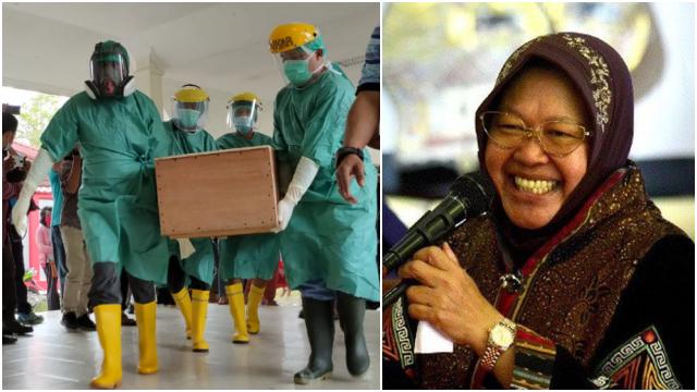 Risma Usulkan Guru Honorer Tewas Ditembak di Papua Jadi PNS