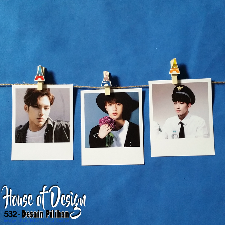 FOTO MODEL POLAROID KPOP CUSTOM MURAH