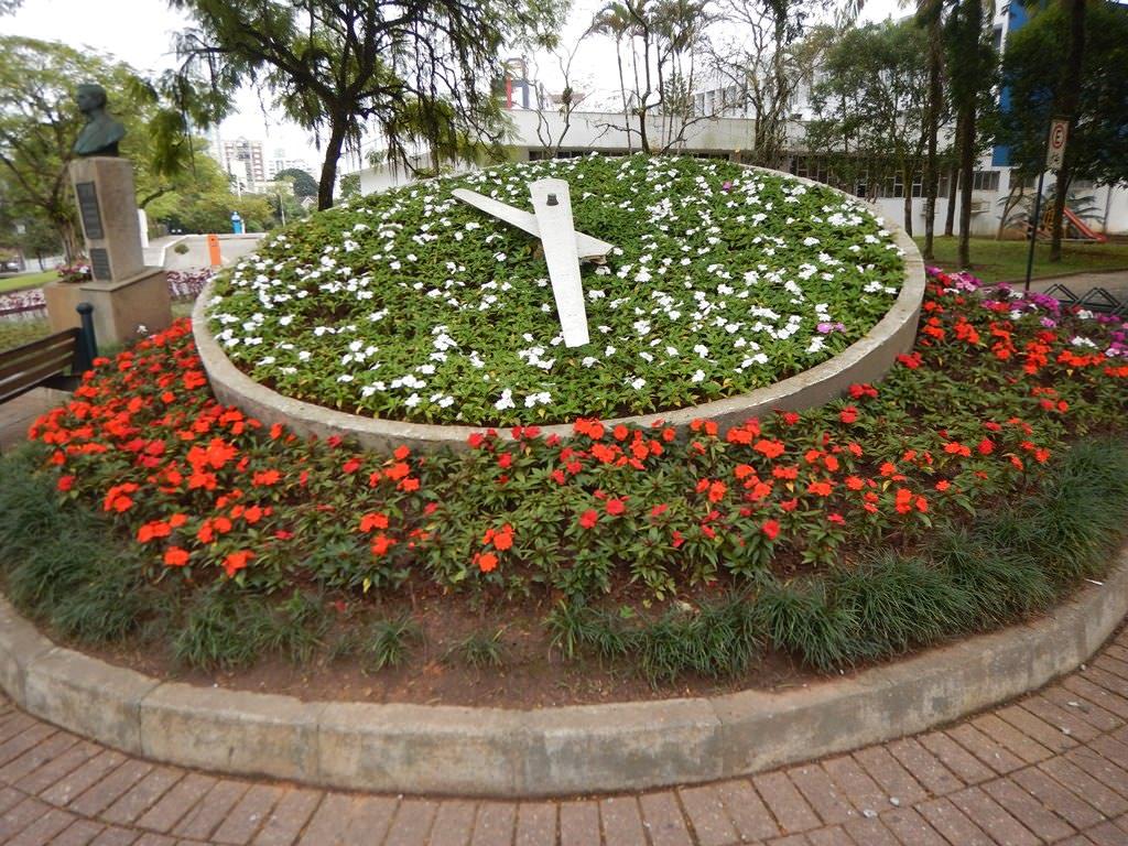 Relógio das Flores em Blumenau