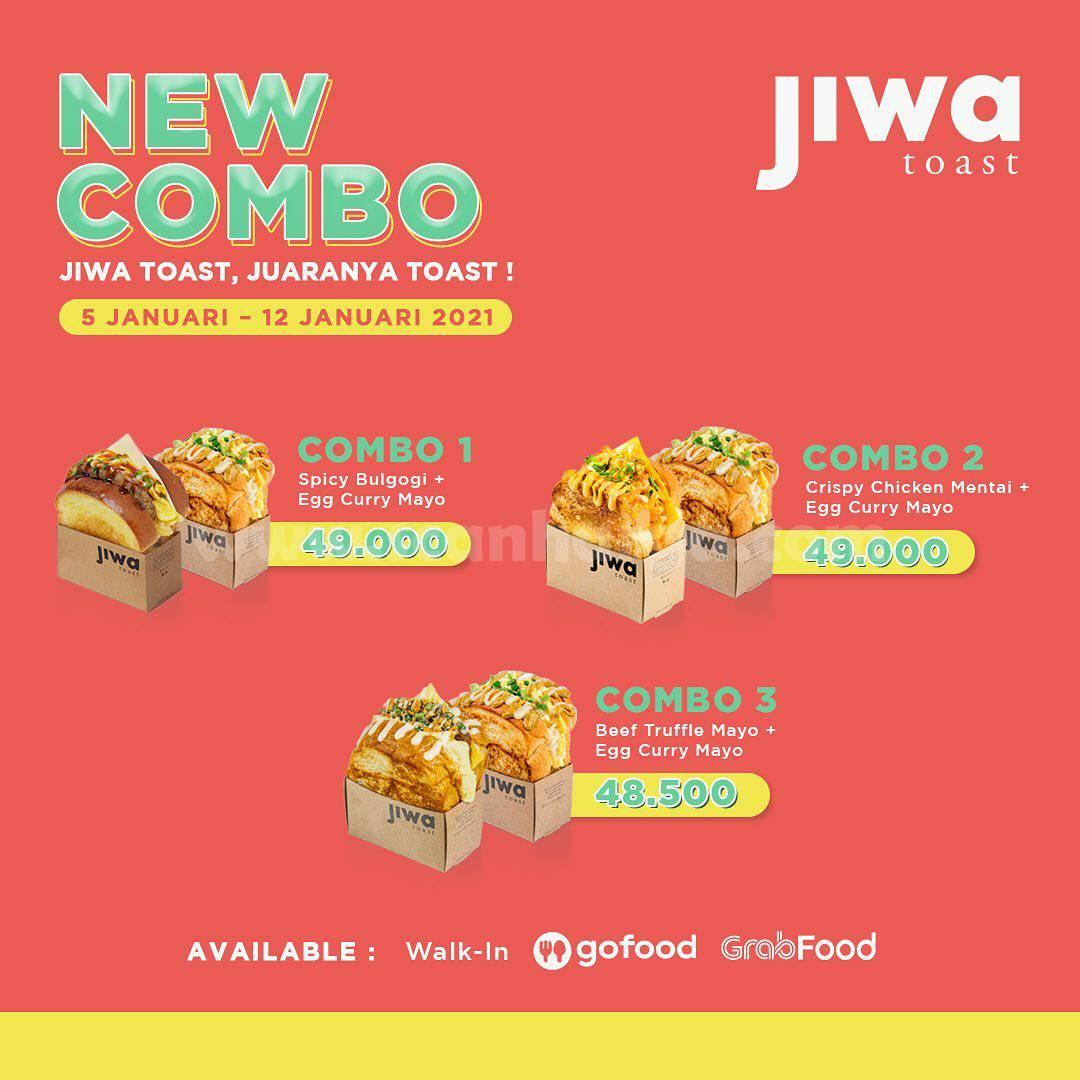 Promo JIWA TOAST Terbaru – Harga Spesial Paket COMBO mulai Rp 48.500