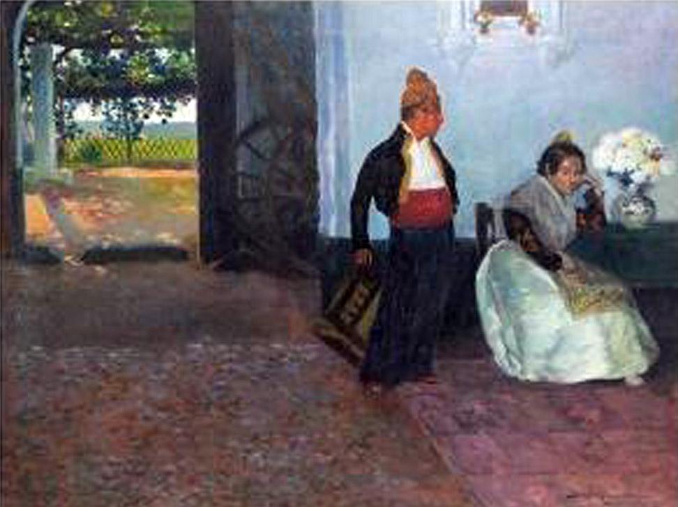 Maestros espa oles del retrato bartolom mongrell mu oz - Pintor valenciano ...