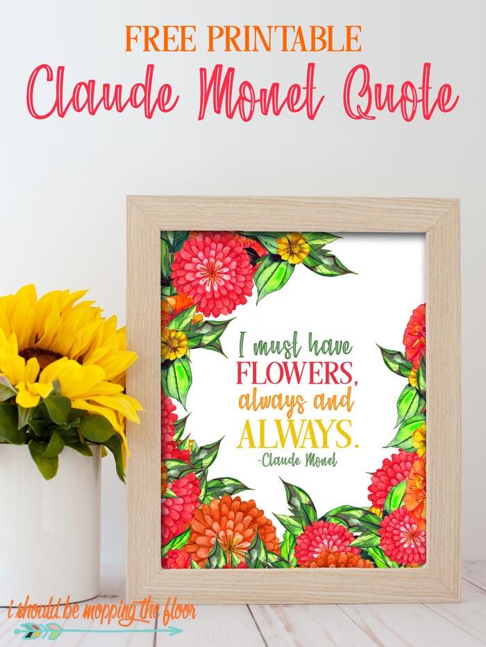 Claude Monet Quotes