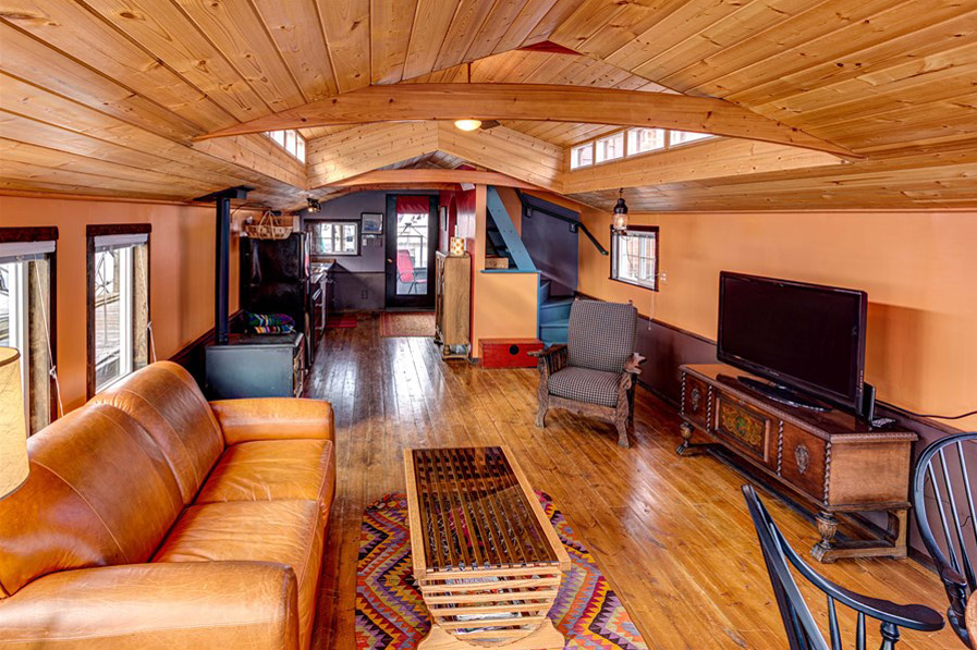 The Little Living Blog Haida Houseboat 600 Sq Ft