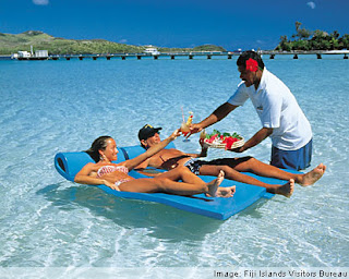 Flying Time Fiji Islands Tahiti