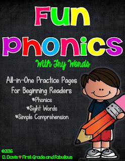 Fun Phonics-First Grade and Fabulous
