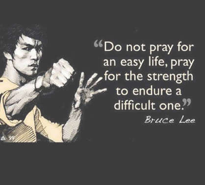 bruce lee strenght whatsapp dp