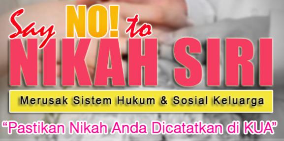Pengertian Dan Nikah Sirri Dalam Pandangan Islam Situs