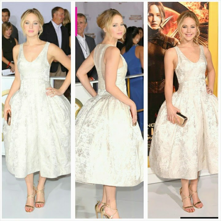 Jennifer Lawrence gorgeous looks 2014