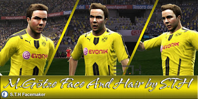 PES 2013 M.Götze Face And Hair By S.T.H