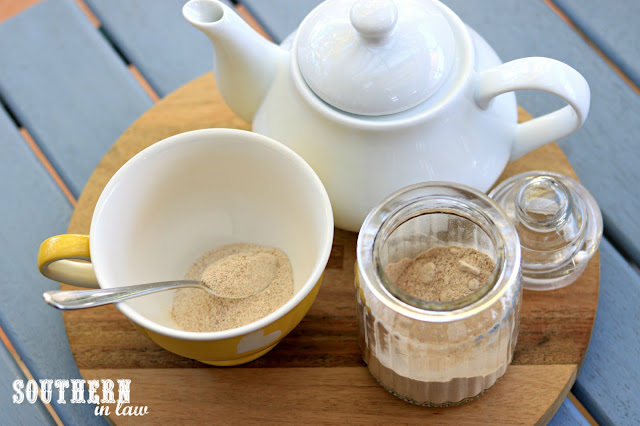 How to Make Homemade Chai Latte Mix - gluten free, paleo, vegan, sugar free, clean eating recipe, caffeine free hot drinks