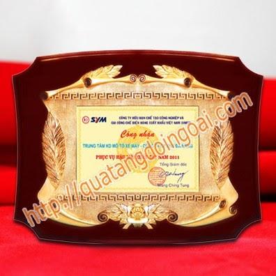 bảng vinh danh gỗ đồng,đặt làm kỷ niệm chương vinh danh,biểu trưng gỗ đồng