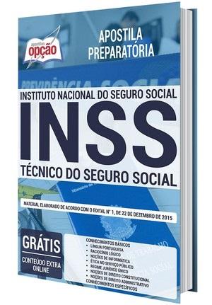 Apostila Concurso INSS 2021 PDF Edital Online Inscrições