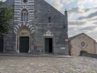 The Church of San Lorenzo (Porto Venere)