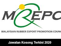 Jawatan Kosong di Majlis Promosi Eksport Getah Malaysia (MREPC)