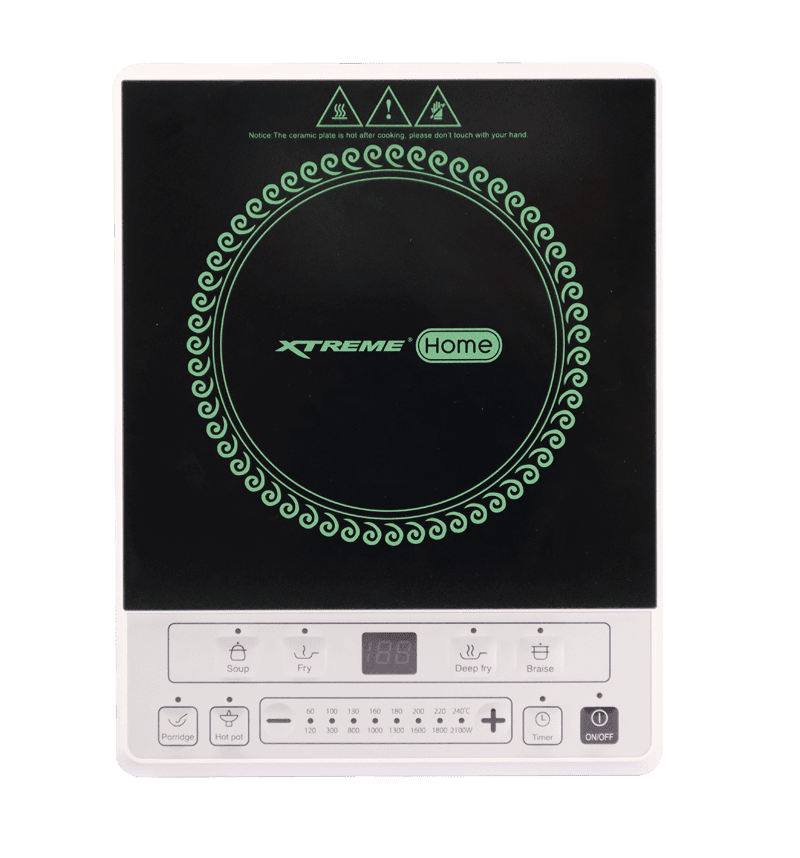Faster meal preparation with this induction cooker