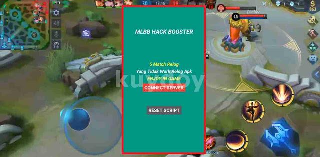 APK Mod Ping Booster Full Hack Server MLBB 2.0 Patch Terbaru