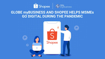 Globe myBusiness Shopee