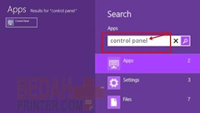 Cara Sharing Printer Ke Komputer Lain di Windows 8