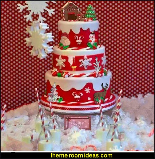 Christmas tree, santa claus, 3d snowflake, elk, snowman, sleigh, crutches, icicle Silicone Fondant Mold Set