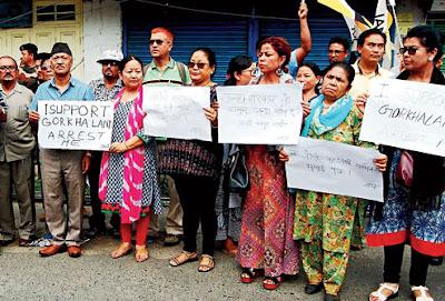 I support Gorkhaland arrest me Harka Bahadur Chhetri