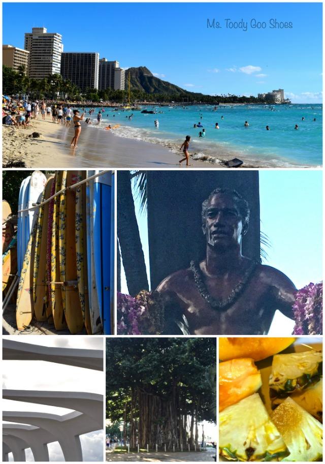 Waikiki Beach - - - Ms. Toody Goo Shoes